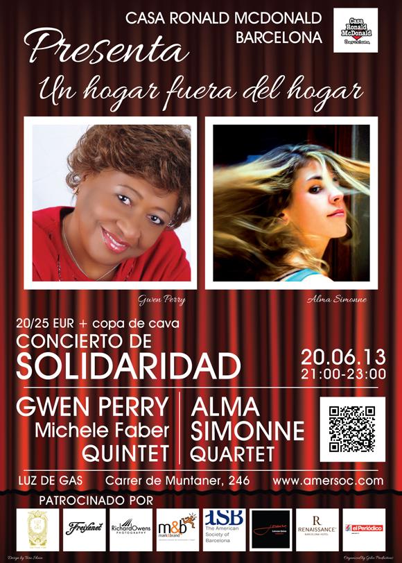 2013 06 20 Concierto de Solidaridad posterv2 580px Ronald McDonald House Barcelona